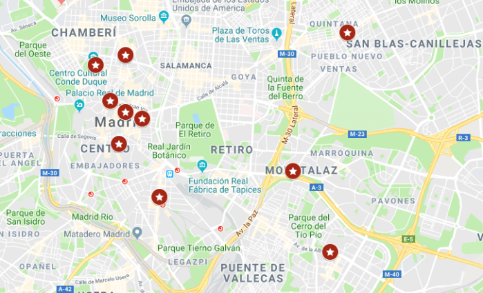 Cines desaparecidos del centro de Madrid
